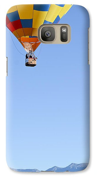 Galaxy Case featuring the photograph The Air Up There... by Kevin Munro