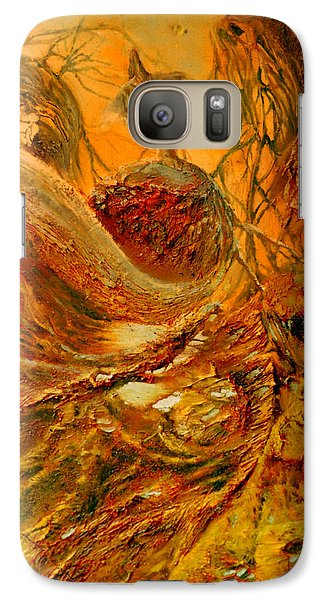 Galaxy Case featuring the painting The Alchemist by Henryk Gorecki