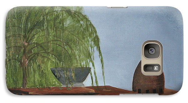 Galaxy Case featuring the painting The Alter by Jane Autry