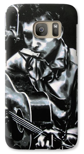The Answer My Friend Is Blowin In The Wind Galaxy S7 Case