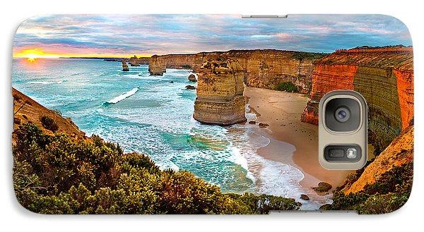 The Apostles Sunset Galaxy S7 Case