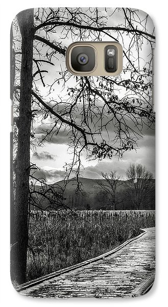 Galaxy Case featuring the photograph The Appalachian Trail by Eduard Moldoveanu