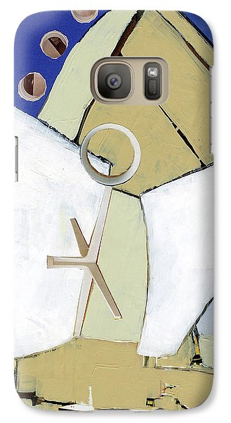 Galaxy Case featuring the painting The Arc by Michal Mitak Mahgerefteh