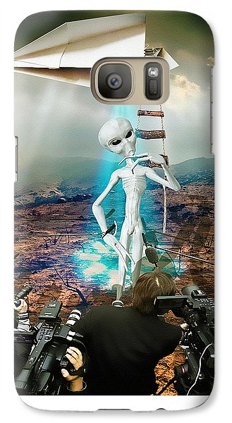 The Arrival Galaxy S7 Case by Marian Voicu