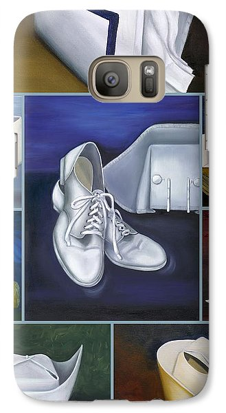Galaxy Case featuring the painting The Art Of Nursing by Marlyn Boyd