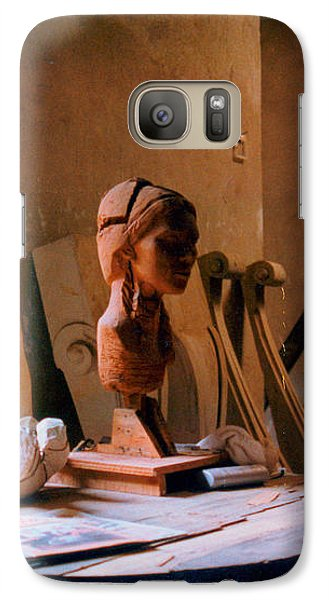 Galaxy Case featuring the photograph The Restoration Studio 3 by Susan Parish