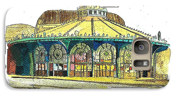 Galaxy Case featuring the painting The Asbury Park Casino by Patricia Arroyo
