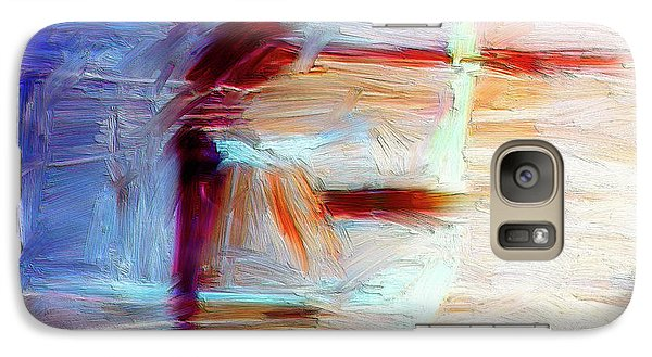 Galaxy Case featuring the painting The Auberge by Dominic Piperata