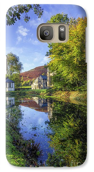 Galaxy Case featuring the photograph The Autumn Pond by Ian Mitchell