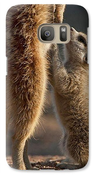 The Baby Is Hungry Galaxy S7 Case by Happy Home Artistry