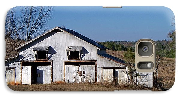 Galaxy Case featuring the photograph The Barn by Betty Northcutt