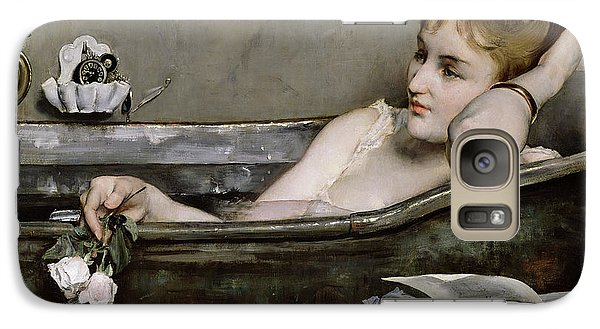 Nudes Galaxy S7 Case - The Bath by Alfred George Stevens