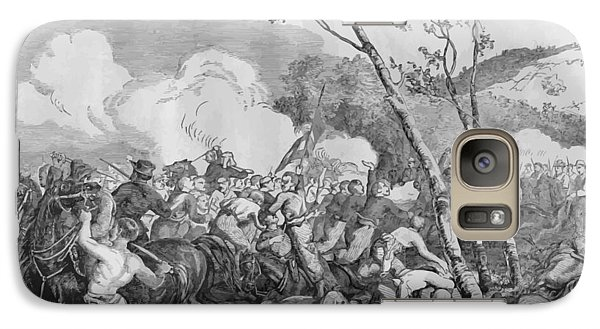 Bull Galaxy S7 Case - The Battle Of Bull Run by War Is Hell Store