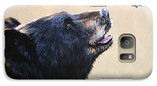 The Bear And The Hummingbird Galaxy S7 Case by J W Baker
