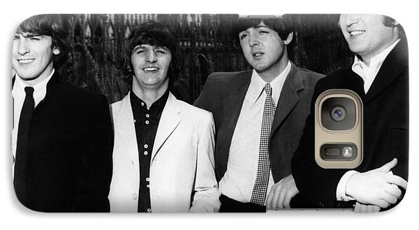 The Beatles, 1960s Galaxy S7 Case by Granger