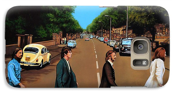 The Beatles Abbey Road Galaxy S7 Case