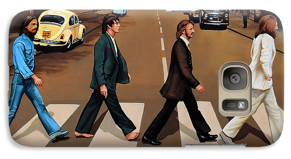 The Beatles Abbey Road Galaxy S7 Case by Paul Meijering