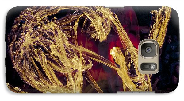 Galaxy Case featuring the photograph The Beauty Of Fire by Karen Musick