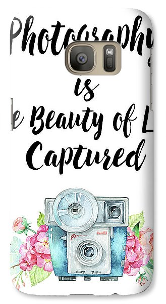 Galaxy Case featuring the digital art The Beauty Of Life by Colleen Taylor