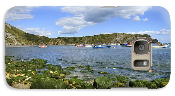 Galaxy Case featuring the photograph The Beauty Of Lulworth Cove by Ian Middleton