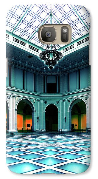 Galaxy Case featuring the photograph The Beaux-arts Court by Chris Lord
