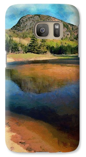 Galaxy Case featuring the painting The Beehive by Jeff Kolker