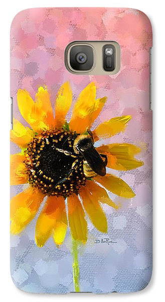 Galaxy Case featuring the photograph The Bee's Knees by Betty LaRue