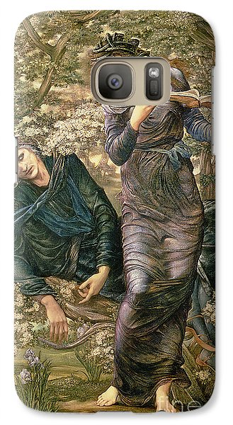 Wizard Galaxy S7 Case - The Beguiling Of Merlin by Sir Edward Burne-Jones