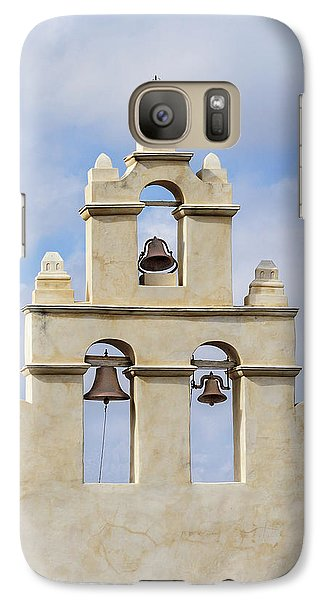 Galaxy Case featuring the photograph The Bells Of San Juan by Mary Jo Allen