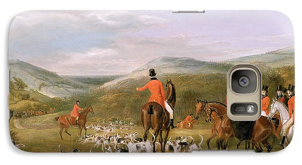 Rural Scenes Galaxy S7 Case - The Berkeley Hunt by Francis Calcraft Turner