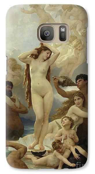 The Birth Of Venus Galaxy Case by William-Adolphe Bouguereau