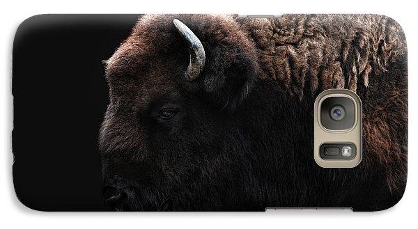 Bison Galaxy S7 Case - The Bison by Joachim G Pinkawa