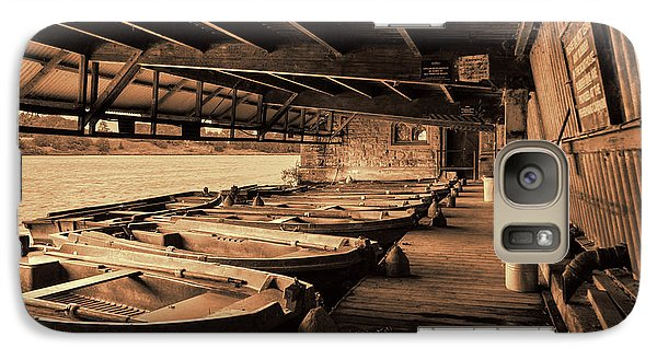 Galaxy Case featuring the photograph The Boat House  by Scott Carruthers