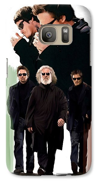 Galaxy Case featuring the painting The Boondock Saints  Redemption by Iconic Images Art Gallery David Pucciarelli