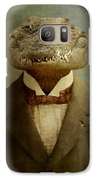 The Boss Galaxy S7 Case by Martine Roch