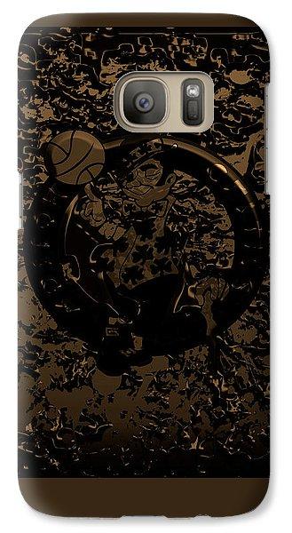 The Boston Celtics 1f Galaxy S7 Case by Brian Reaves