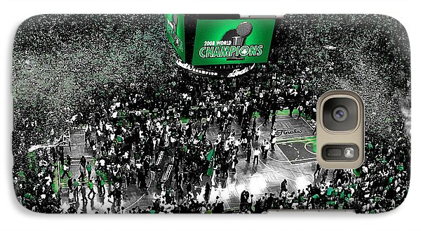 The Boston Celtics 2008 Nba Finals Galaxy S7 Case by Brian Reaves