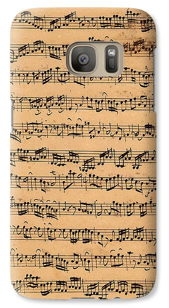 Music Galaxy S7 Case - The Brandenburger Concertos by Johann Sebastian Bach