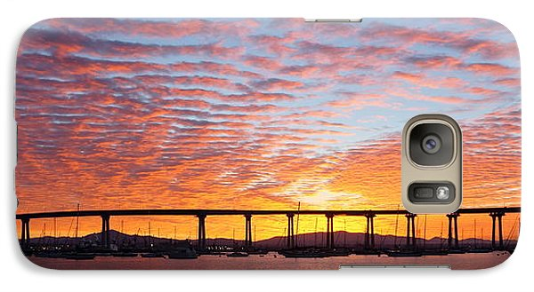 Galaxy Case featuring the photograph The Break Of Dawn In Coronado by Jeremy McKay