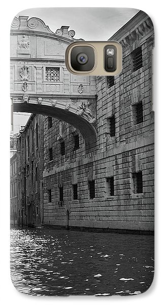 Galaxy Case featuring the photograph The Bridge Of Sighs, Venice, Italy by Richard Goodrich