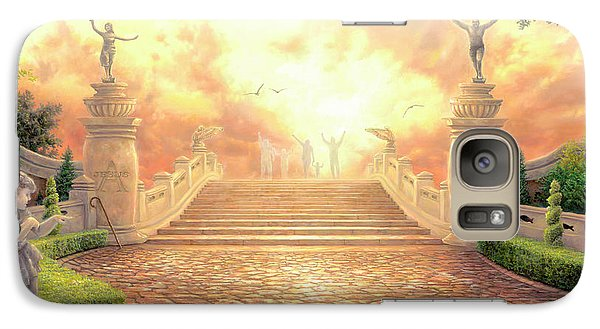 The Bridge Of Triumph Galaxy Case by Chuck Pinson