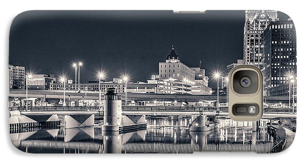 Galaxy S7 Case featuring the photograph The Bright Dark Of Night by Bill Pevlor
