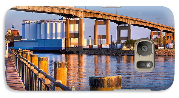 Galaxy Case featuring the photograph The Buffalo Skyway by Don Nieman