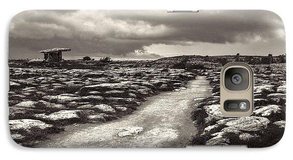 The Burren Ireland With Poulnabrone Dolmen Galaxy S7 Case