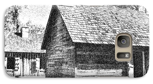 Galaxy Case featuring the photograph The Cabin by Ken Frischkorn