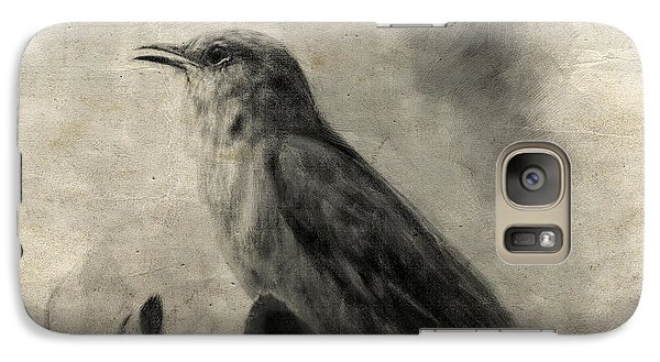 The Call Of The Mockingbird Galaxy S7 Case by Jai Johnson