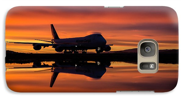 Galaxy Case featuring the photograph The Calm Before by Alex Esguerra