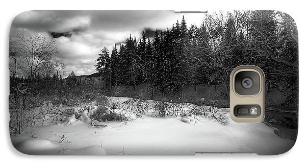 Galaxy S7 Case featuring the photograph The Calm Of Winter by David Patterson