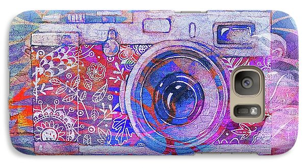 Galaxy Case featuring the digital art The Camera - 02c3t by Variance Collections
