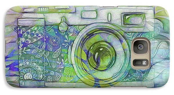 Galaxy Case featuring the digital art The Camera - 02c5b by Variance Collections